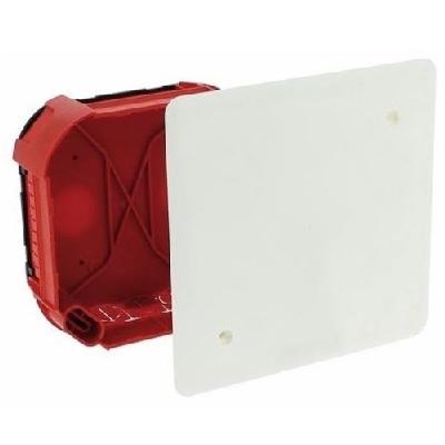 LEGRAND - Boîte complète Batibox pour dérivation - rectangulaire - 120x120x40 mm - REF 089272