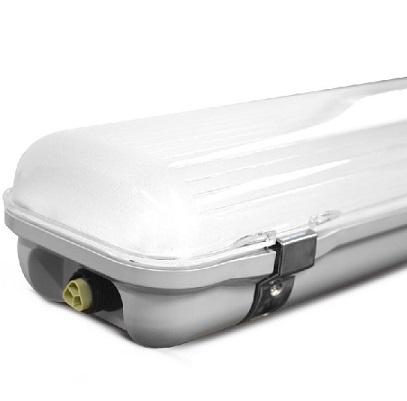 MIIDEX - Boitier Etanche LED Intégrée -4000°K - 48 WATT IP65 1200 X 110 - Traversant - REF 75821