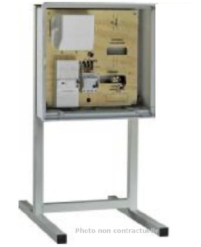 DIGITAL-ELECTRIC - Support métallique pour coffret de branchement provisoire - Réf - 31109
