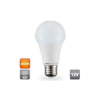 Ampoule LED 12V 9W E27 standard 3000K 806 lm - Réf - 2002318
