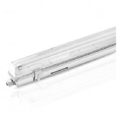 MIIDEX - Boitier Etanche LED sans ballast pour 1 Tube T8 de 150 cm  - 58W maxi - REF - 75910