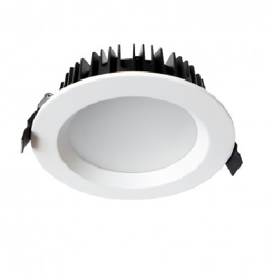 MIIDEX - Downlight LED 28W Ø230 4000K alu blanc - REF - 76513