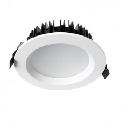 MIIDEX - Downlight LED 28W Ø230 4000K alu blanc - REF - 76513