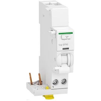 SCHNEIDER ELECTRIC - Acti9 iDT40 - module différentiel Vigi - départ iDT40 - 1P+N 25A 30mA type AC - Réf - A9Y62625