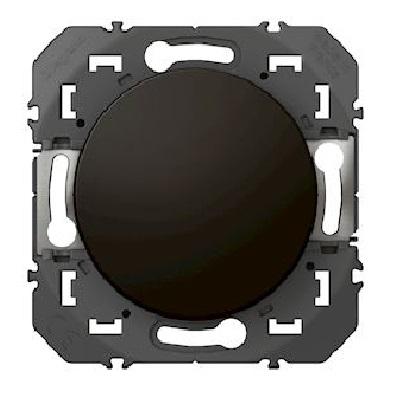 LEGRAND - Interrupteur ou va-et-vient dooxie 10AX 250V~ finition noir - emballage blister - Réf - 095260