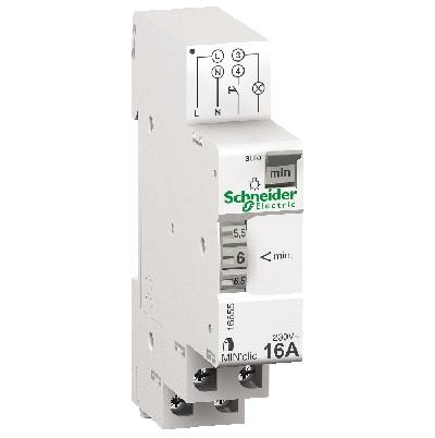 SCHNEIDER ELECTRIC - Minuterie - 1 contact 16A - 250VCA - REF 16655