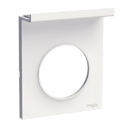 SCHNEIDER ELECTRIC - Odace Styl Pratic plaque Blanc support téléphone mobile 1 poste - Réf - S520712