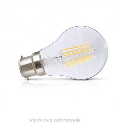 MIIDEX - Ampoule LED B22 Bulb Filament 8W 2700K - Réf - 7140