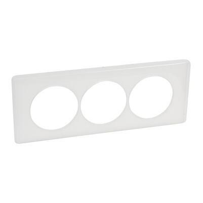 LEGRAND - Plaque Céliane - Memories - 3 postes pour rénovation - Yesterday - REF 068809