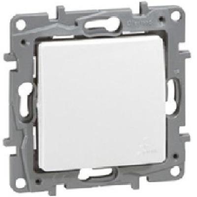 LEGRAND - Poussoir NILOE - IP 44 6 A - NO-NF - pur - REF - 664725