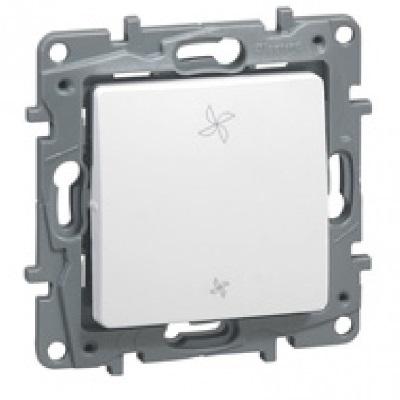 LEGRAND - Interrupteur de VMC Niloé - 2 positions - Pur - REF 664791