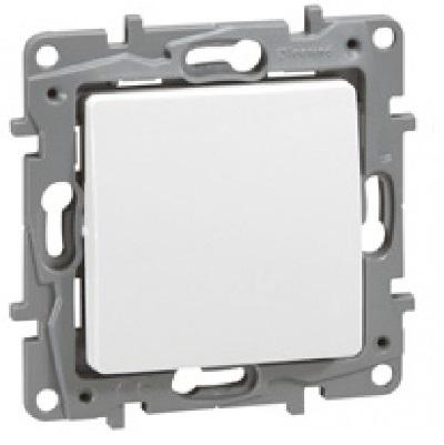 LEGRAND - Interrupteur ou va-et-vient Niloé - 10 AX - 250 V~ - Pur - Réf - 664701
