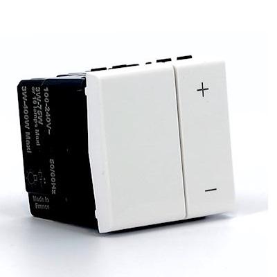 LEGRAND - Ecovariateur universel pour lampes éco 2 fils Prog Mosaic - Blanc - REF 078407