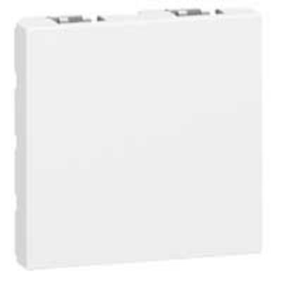 LEGRAND - Obturateur Prog Mosaic - 2 mod - blanc - REF 077071