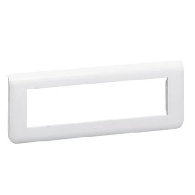 LEGRAND - Plaque de finition horizontale Mosaic pour 8 modules blanc - REF 078818L