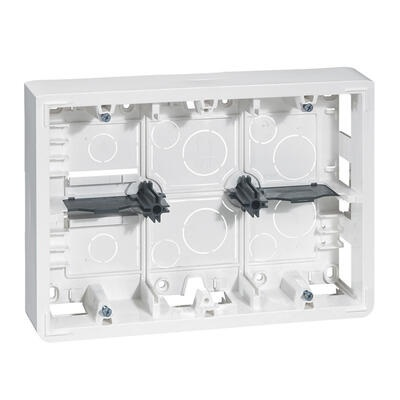 LEGRAND - Cadre Prog Mosaic - prof 46 mm- 2x6/8/2x3x2 modules - REF 080276