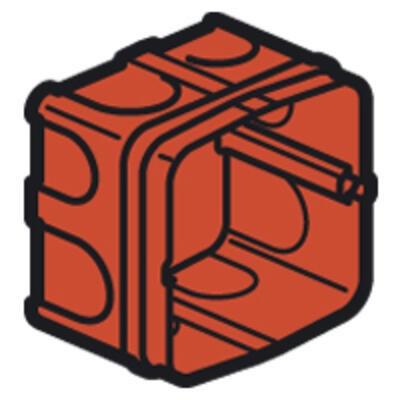 LEGRAND - Boîte Batibox - maçonnerie - pour prise 20 et 32 A - 1 poste - prof. 50 - REF 080185