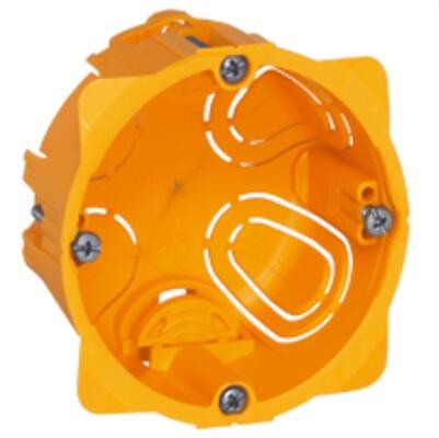 LEGRAND - Boîte monoposte Batibox - cloison sèche - vis/griffe - 1 poste - prof. 40 - REF 080041