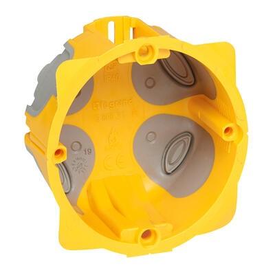 LEGRAND - Boîte étanche monoposte Ecobatibox diamètre 67mm ou 2 modules - profondeur 50mm - REF 080031