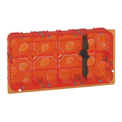 LEGRAND - Boîte multimatériaux Batibox - grand format - pour Mosaic 2x10 mod - prof 50 - REF 080128