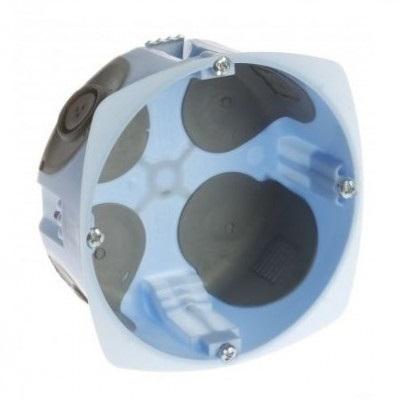 EUR\'OHM - Boite d\'encastrement pour cloison sèche - XL Air\'Métic - 1 poste - Ø 85mm - Profondeur 50mm - 32 A  - REF 52071