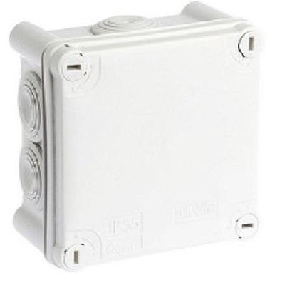 EUR\'OHM - Boîte de dérivation blanche IP55 - membrane ø105 - 960° - Réf 50224