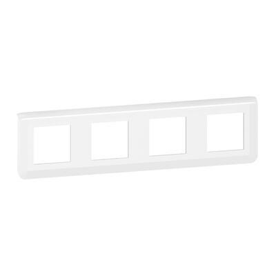 LEGRAND - Plaque de finition horizontale Mosaic pour 4x2 modules blanc - REF 078808L