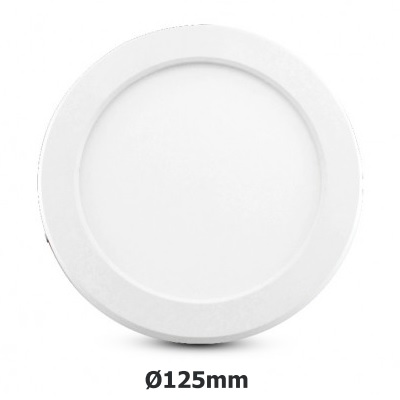 MIIDEX - Plafonnier LED 6W dia. 125mm - CCT - Réf - 77492