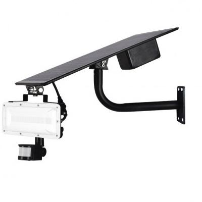 MIIDEX - Projecteur LED Solaire 20W avec détecteur - 4000K - Réf - 80700