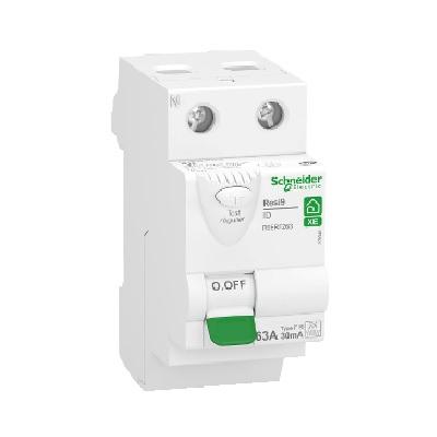 SCHNEIDER ELECTRIC - Interrupteur différentiel Rési9 XE - 63A - 30mA - FSI Embrochable - REF R9ERF263