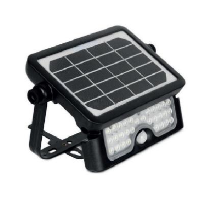 MIIDEX - Projecteur LED solaire avec détecteur IR - 5W - 4000K -Réf - 80801