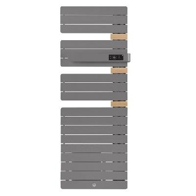 THERMOR - Radiateur sèche serviette - Allure 3 - 1750W - Mat à droite - Avec Soufflerie - Réf - 483188