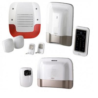 DELTA DORE - Pack alarme sans fil prêt à l\'emploi avec suivi sms et détecteur vidéo - Réf - 6410178
