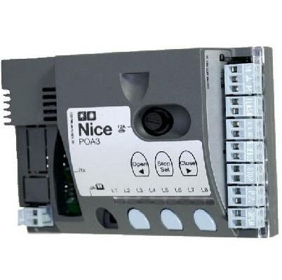 NICE - Carte Electronique - Logique de commande pour POP7124 moteur Hoppkit - Réf - POA3