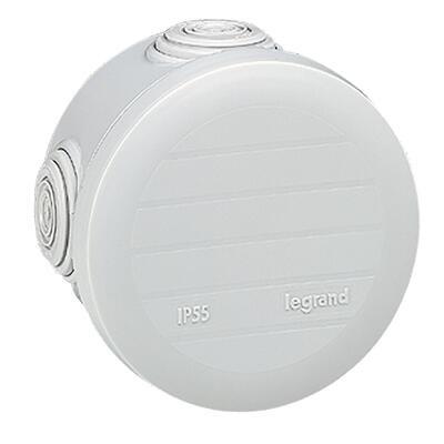 LEGRAND - Boîte de dérivation ronde Plexo Ø70mm hauteur 45mm - gris - REF 092002