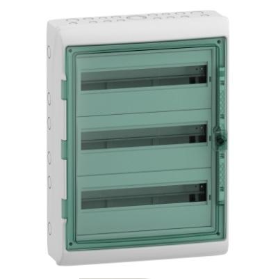 SCHNEIDER ELECTRIC - Coffret Kaedra pour appareillage modulaire - 3 rangées - 54 modules - REF 13967