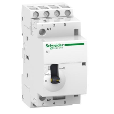 SCHNEIDER ELECTRIC - Acti9 iCT Contacteur à commande manuelle 25A - ref A9C21833