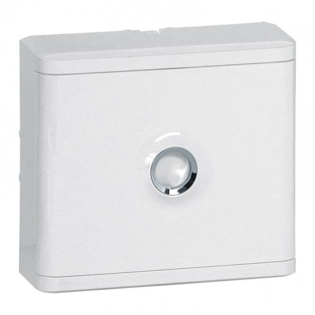 LEGRAND - Habillage + porte blanche pour platines de branchement Drivia - Blanc RAL 9003 - REF 401185