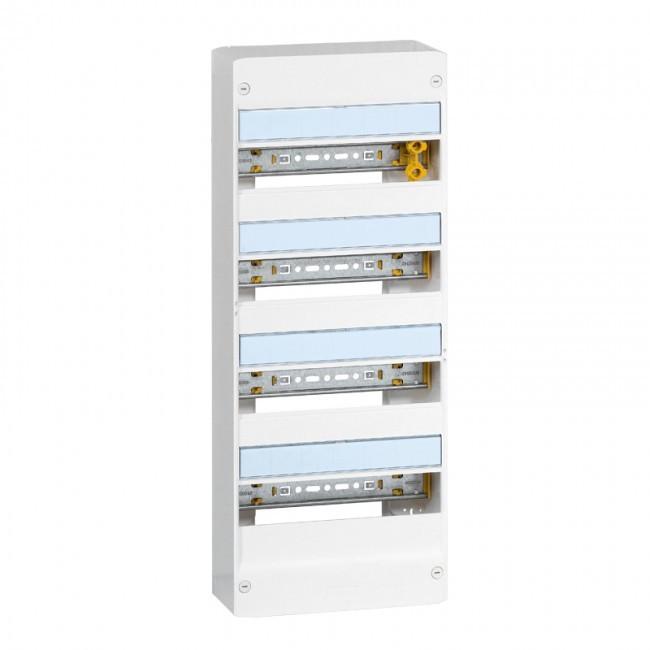 LEGRAND - Coffret Drivia 13 modules - 4 rangées - IP30 - IK05 - Blanc - REF 401214