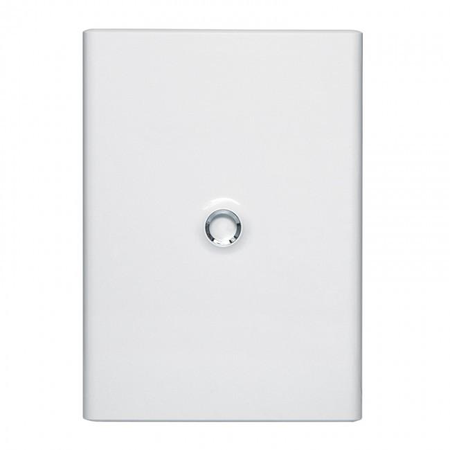 LEGRAND - Porte Drivia blanche IP 40 - IK 07 - pour coffret réf 401223 - REF 401233