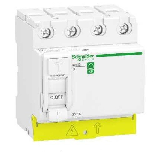SCHNEIDER ELECTRIC - Rési9 XP interrupteur différentiel 4P - 40A - 30mA - type AC -  REF R9PRC440