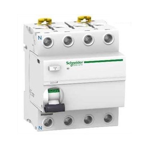 SCHNEIDER ELECTRIC - Acti9 iID interrupteur différentiel 4P - 63A - 30mA - type AC - REF A9R11463