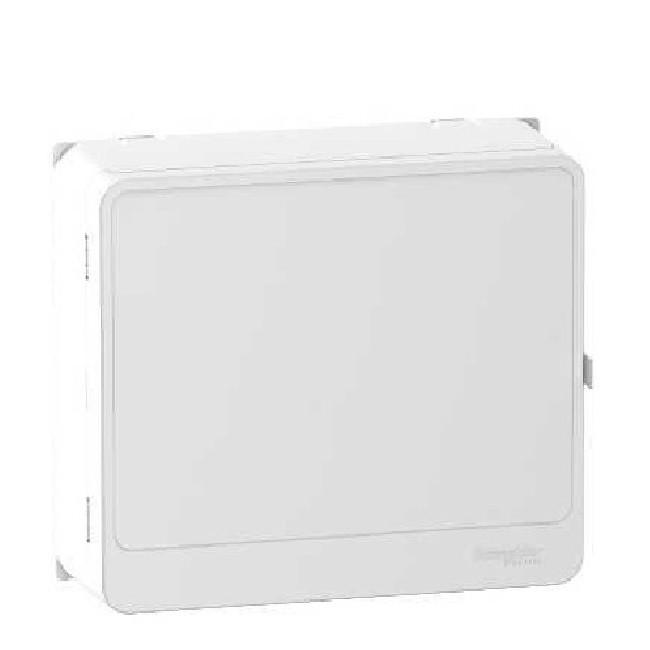 SCHNEIDER ELECTRIC - Resi9 - Porte Styl blanche pour panneau de contrôle et bloc de commande - 13 modules- REF R9H13418