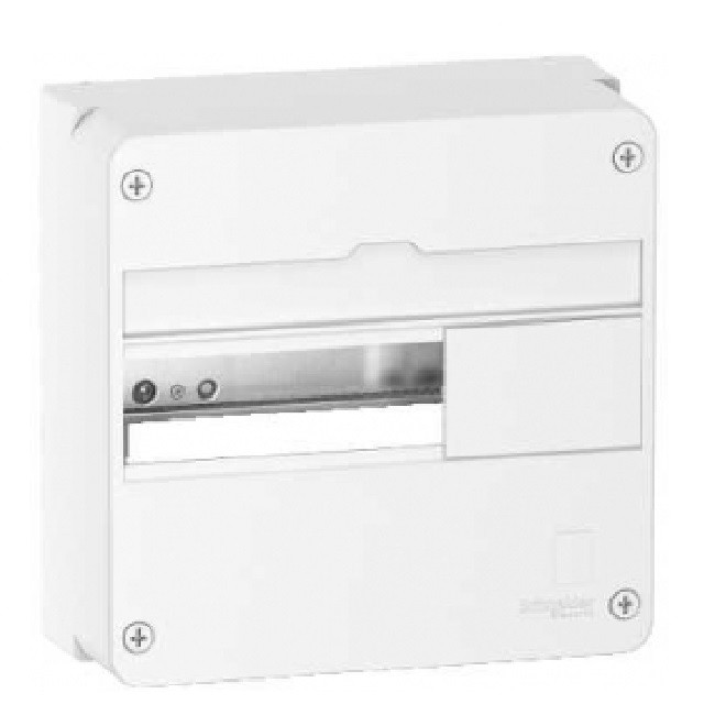 SCHNEIDER ELECTRIC - Rési9 - Coffret 13 modules 1 rangée - IP30 - 63 A - REF R9H13401