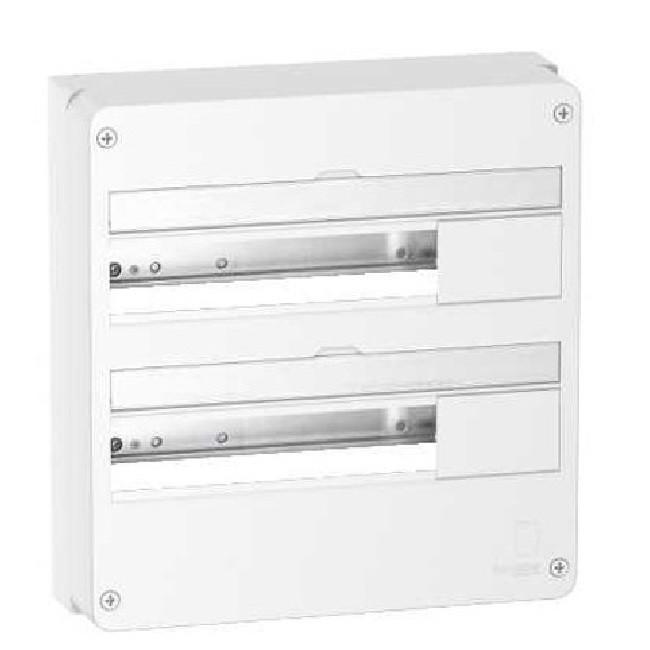 SCHNEIDER ELECTRIC - Rési9- coffret - 18 modules 2 rangées - REF R9H18402