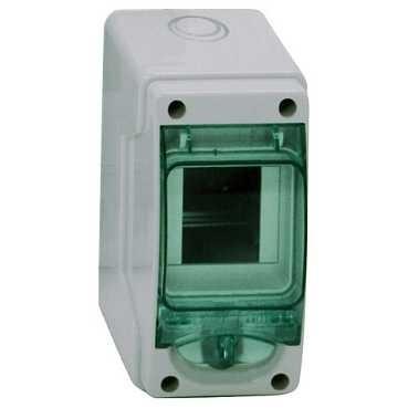 SCHNEIDER ELECTRIC - Coffret étanche mini Kaedra - pour appareillage modulaire - 80 x 150 mm - 3 modules - REF 13956