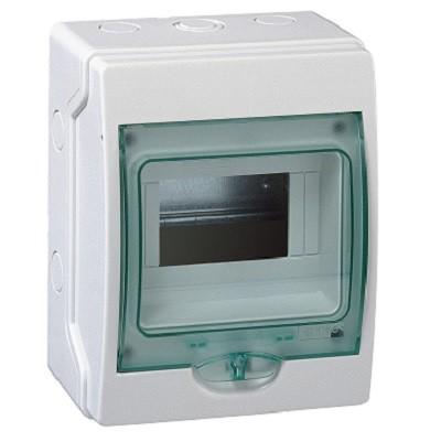 SCHNEIDER ELECTRIC - Coffret étanche mini Kaedra - pour appareillage modulaire - 159 x 200 mm - 6 modules -  REF 13958