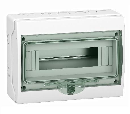 SCHNEIDER ELECTRIC - Coffret étanche mini Kaedra - pour appareillage modulaire - 267 x 200 mm - 12 modules - REF 13960