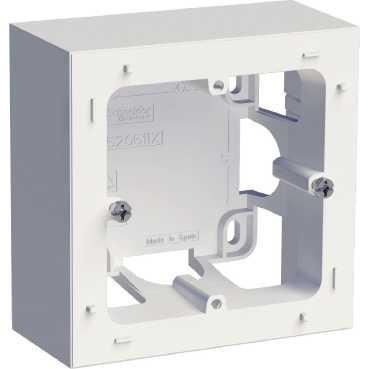 SCHNEIDER ELECTRIC - Odace Styl boîte pour montage en saillie Blanc 1 poste - REF S520762