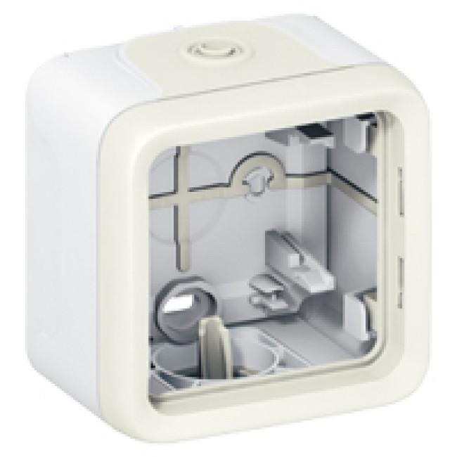 LEGRAND - Boîtier à embouts Prog Plexo composable - 1 poste - blanc- REF 069689